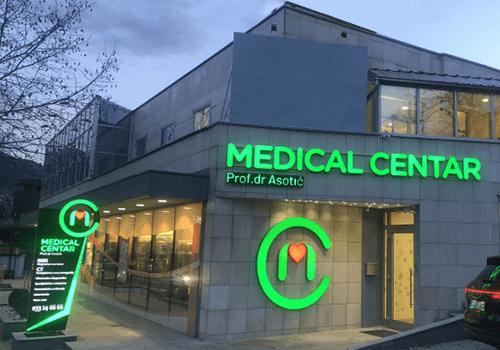 PZU MEDICAL CENTAR Lokacija Sarajevo